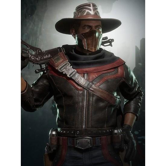 Erron Mortal Kombat 11 Leather Jacket