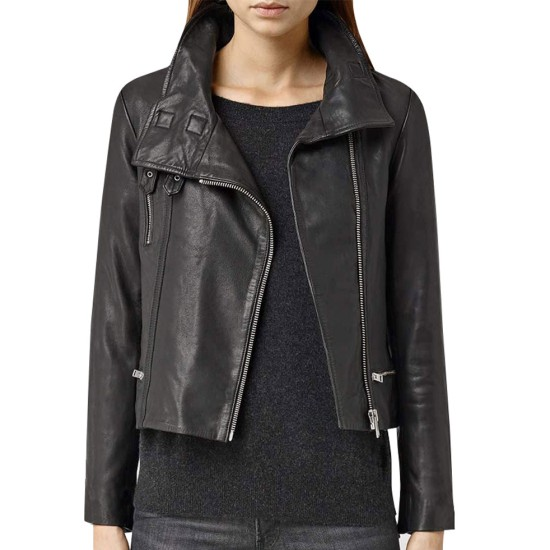 Agents of Shield Ming-Na Wen Motorcycle Leather Jacket