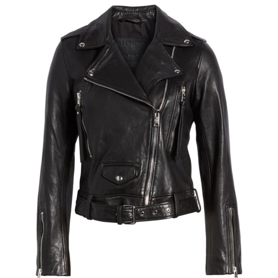 Camila Morrone Valley Girl Leather Jacket