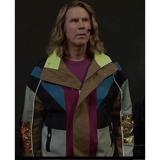 Eurovision Song Contest Will Ferrell Multi Color Jacket