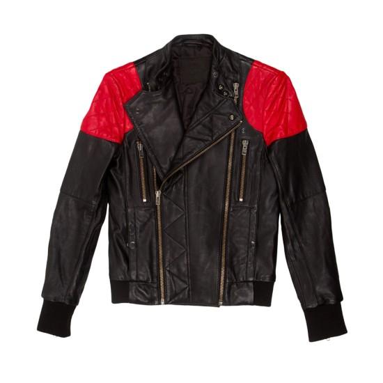 Biker Style Mr Rager Kid Cudi Leather Jacket