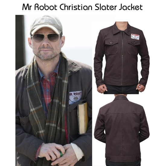 Mr Robot Christian Slater Jacket