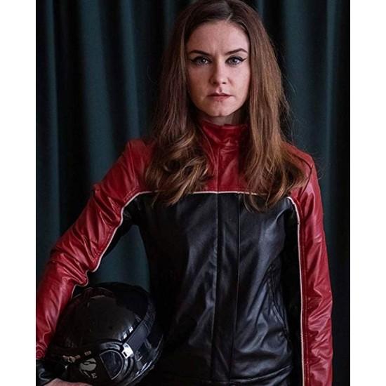 Derry Girls Judith Roddy Biker Leather Jacket