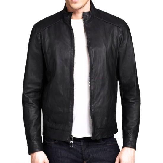 Dwayne Johnson MTV Movie Awards 2015 Leather Jacket