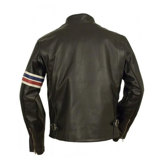 Biker Johnny Knoxville Leather Jacket