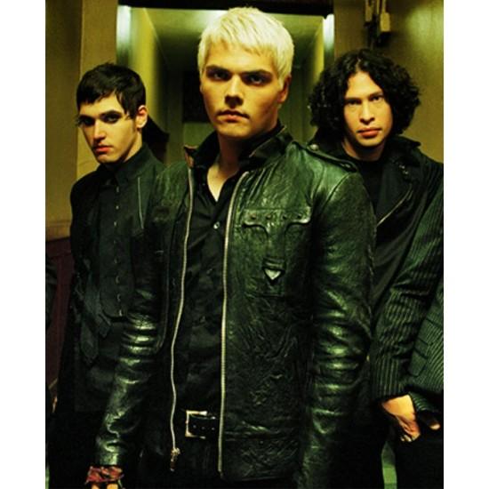 MCR Gerard Way Leather Jacket