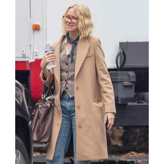 Boss Level Naomi Watts Wool Coat