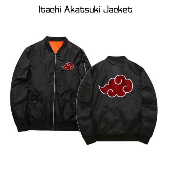 Itachi Akatsuki Black Jacket