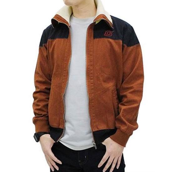 Cospa Blouson Naruto Uzumaki Brown Jacket