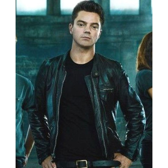 Dominic Cooper Need For Speed Leather Jacket