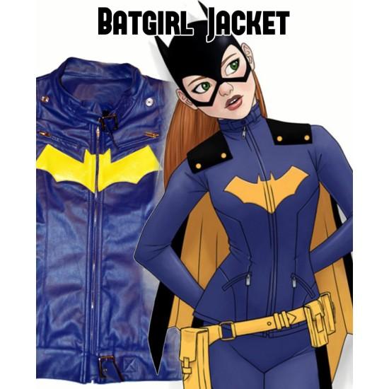 New 52 Batgirl Leather Jacket