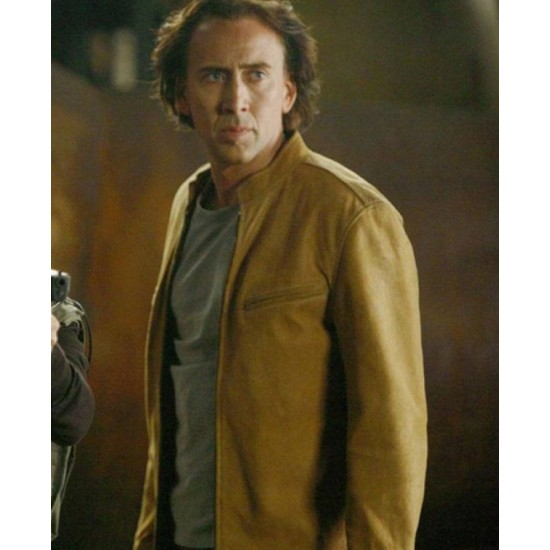 Cris Johnson Next Nicolas Cage Leather Jacket