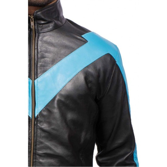 Nightwing Dick Grayson Leather Jacket