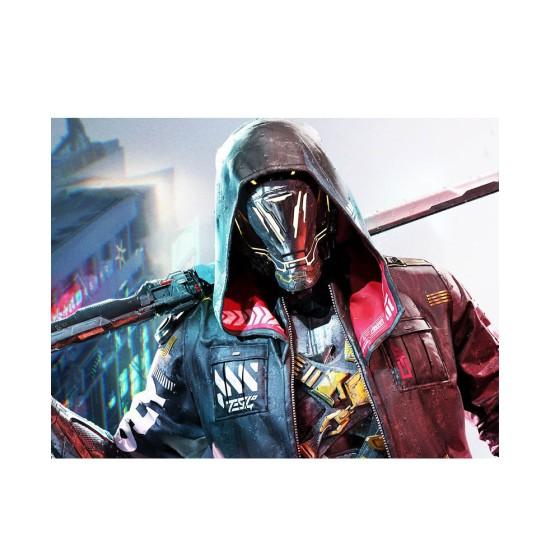 Cyberpunk Ninja GhostRunner Hooded Jacket