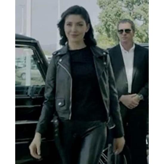 Emilia Ares No Escape Leather Jacket