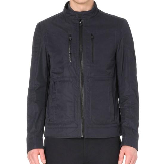 Arrow Stephen Amell Zip Shell Black Jacket