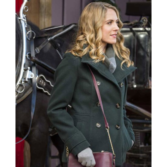 Brooke Nevin On the Twelfth Day of Christmas Peacoat