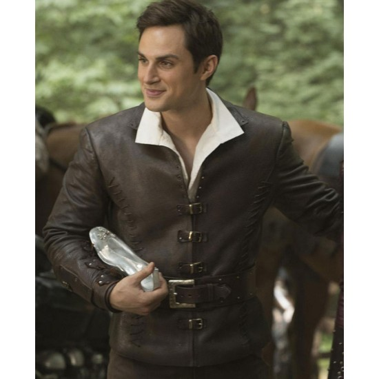 Once Upon a Time Henry Mills Leather Jacket