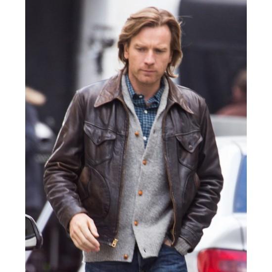 Ewan Mcgregor Our Kind of Traitor Leather Jacket