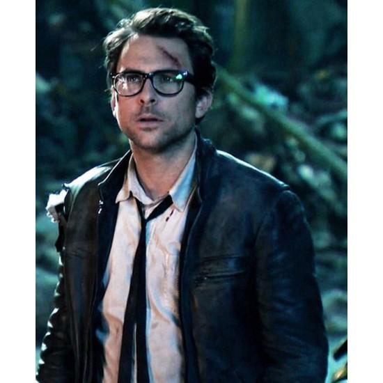Dr Newton Geiszler Pacific Rim Leather Jacket