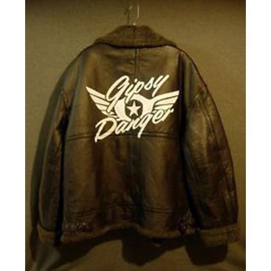Gipsy Danger Pacific Rim Ranger Shearling Jacket