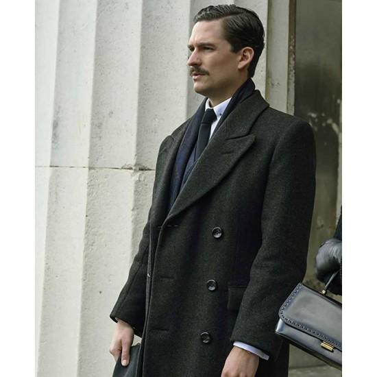 Ben Aldridge Pennyworth Wool Coat