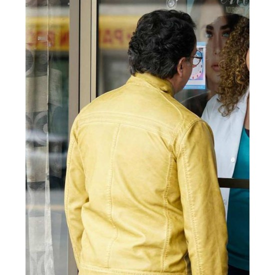 Beyond The Man In The Yellow Leather Jacket