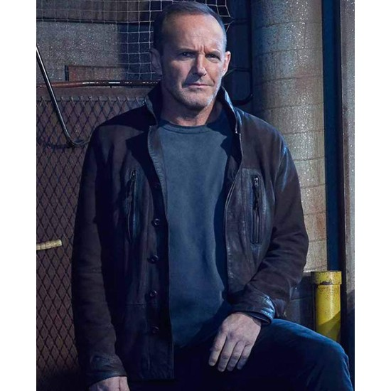 Agents of Shield Clark Gregg Suede Jacket