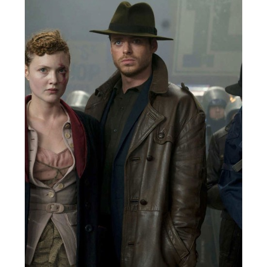 Agent Ross Philip K. Dick's Electric Dreams Trench Coat