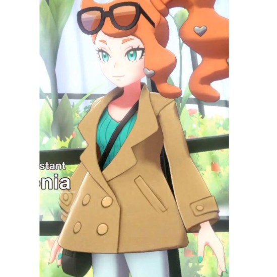 Sonia Pokémon Sword and Shield Coat