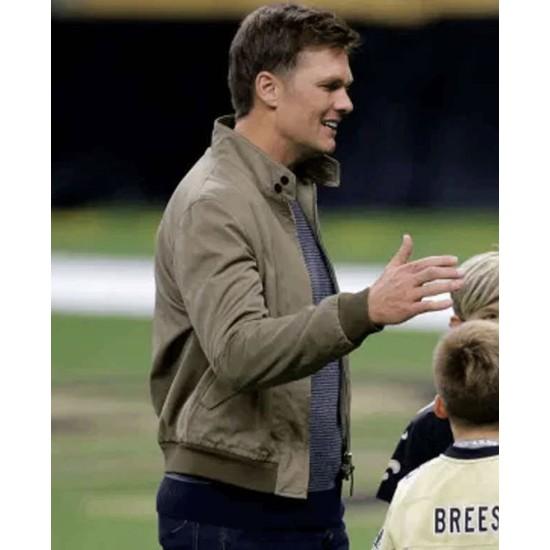 Post Game Tom Brady Cotton Jacket