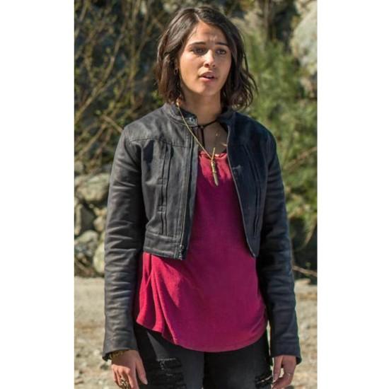 Kimberly Hart Power Rangers Naomi Scott Leather Jacket