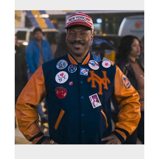 Coming 2 America Eddie Murphy NY Letterman Jacket
