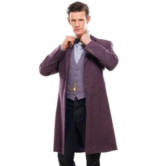 Eleventh Doctor Purple Frock Coat