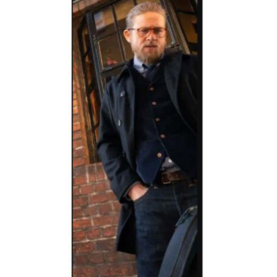 Charlie Hunnam The Gentlemen Wool Coat