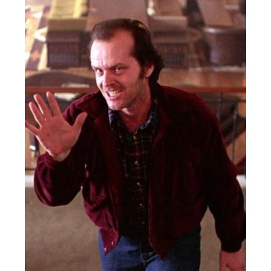 The Shining Jack Nicholson Red Corduroy Jacket