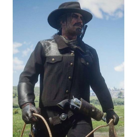 Red Dead Redemption 2 Finley Black Jacket