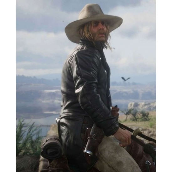 Micah Bell Red Dead Redemption 2 Leather Coat