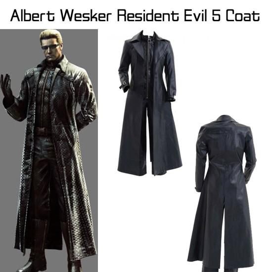 Albert Wesker Resident Evil 5 Trench Coat
