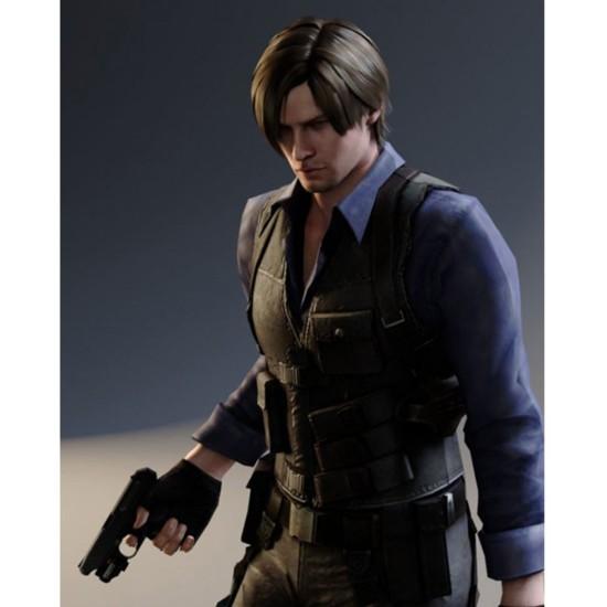 Resident Evil 6 Game Leon Kennedy Vest Films Jackets