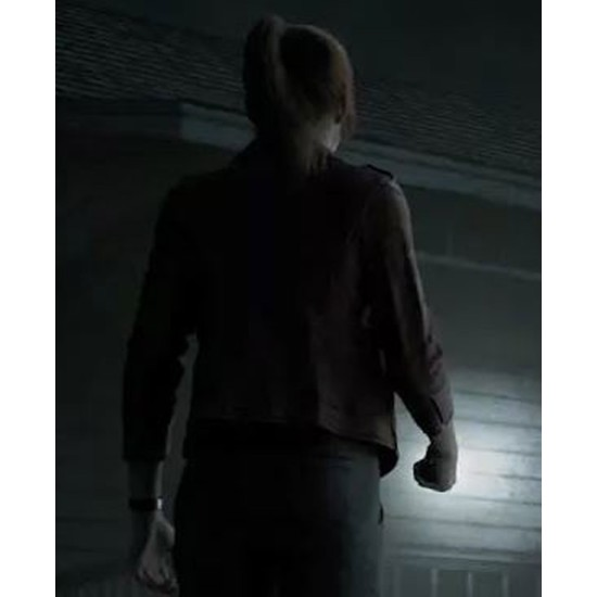 Claire Redfield Resident Evil Infinite Darkness Biker Leather Jacket