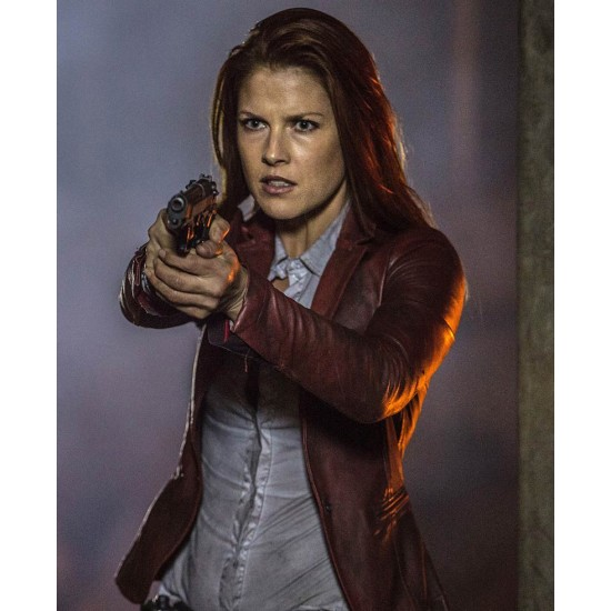 Resident Evil The Final Chapter Claire Redfield Leather Jacket