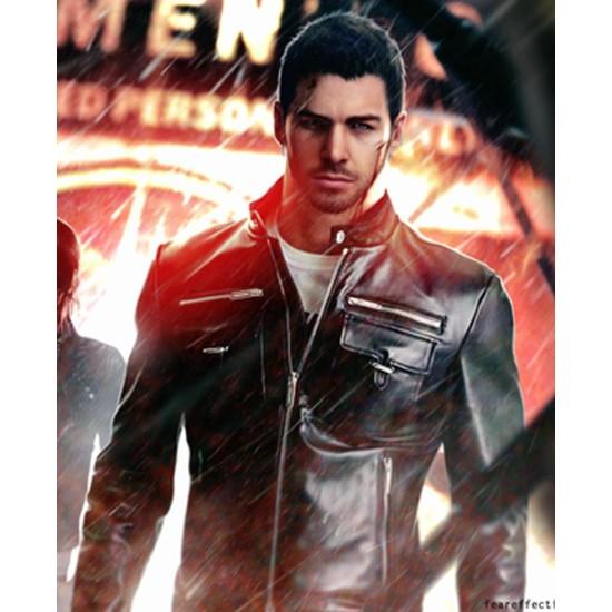 Chris Redfield Resident Evil Biohazard Vendetta Leather Jacket