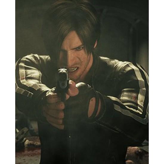 Resident Evil Biohazard Vendetta Leon Kennedy Jacket Films Jackets