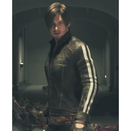 Leon Kennedy Resident Evil Biohazard Vendetta Jacket
