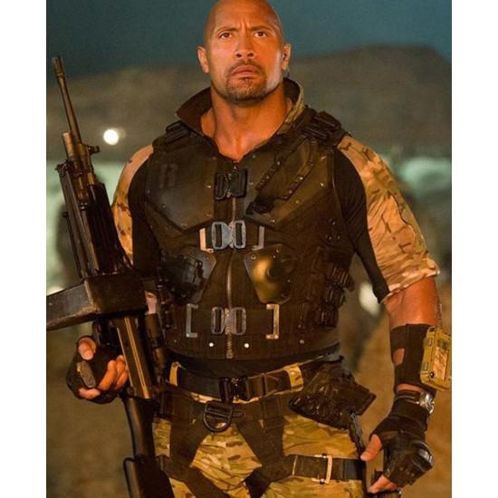Dwayne Johnson GI Joe Retaliation Vest