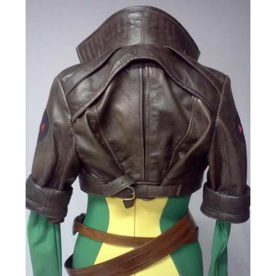 Rogue Brown Leather Jacket