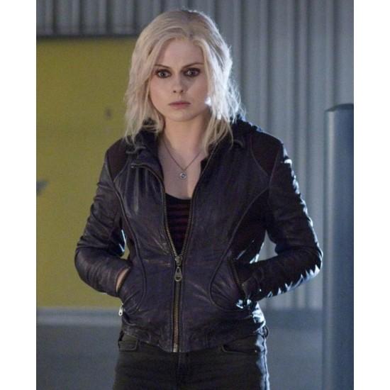 Liv Moore Izombie Rose Mciver Leather Jacket
