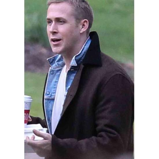 First Man Ryan Gosling Brown Jacket