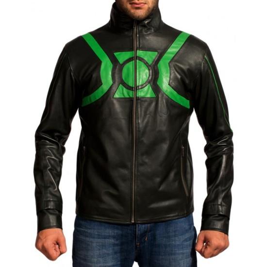 Ryan Reynolds Green Lantern Leather Jacket